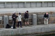 Drengene på fisketur