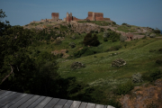 Hammershus ruiner